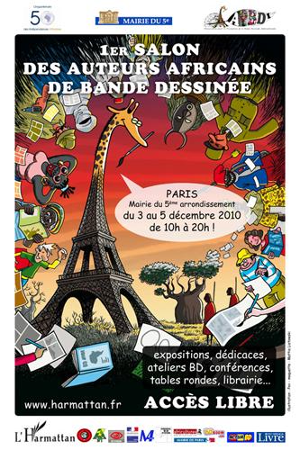 Salon des auteurs Africains de Bande Dessinée 2010