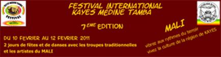 Festival de Kayes Médine Tamba 2011