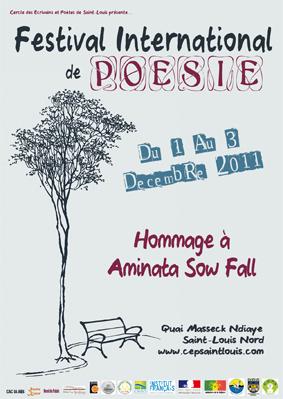 Festival international de poésie de Saint Louis 2011