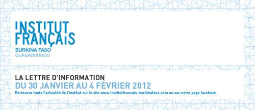 Programme IFBF Ouagadougou 30 janvier au 04 février