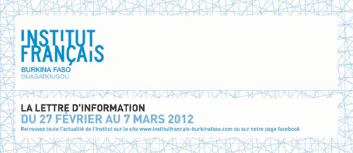 Programme IFBF Ouagadougou 27 février au 7 mars
