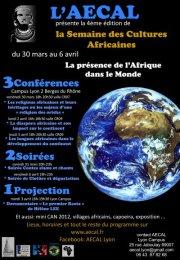 Semaine des cultures africaines de Lyon 2012