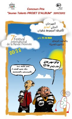 Festival International de la Bande Dessinée de Tétouan [...]