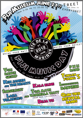 Fiji Music Day (fête de la musique de Fidji) 2012