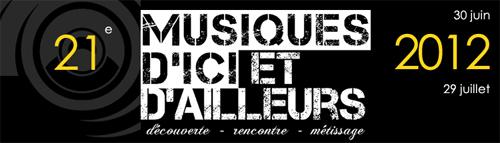 Festival des musiques d'ici et d'ailleurs 2012