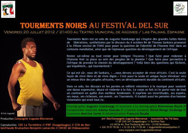 Tourments Noirs au festival del Sur
