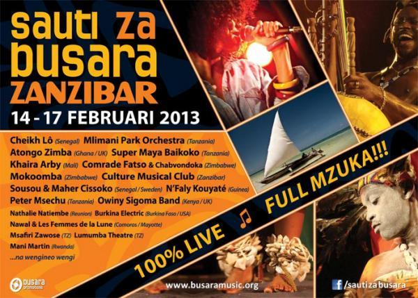 Sauti Za Busara 2013