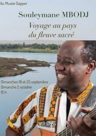 Voyage au pays du fleuve sacré par Souleymane Mbodj
