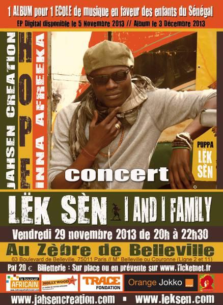 LËK SÈN & I and I Family en concert au Zèbre de [...]
