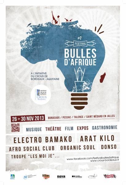Festival BULLES D'AFRIQUE 2013