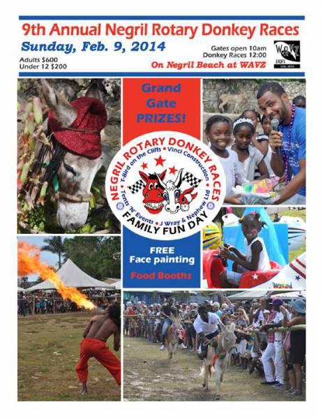 Negril Rotary Donkey Races