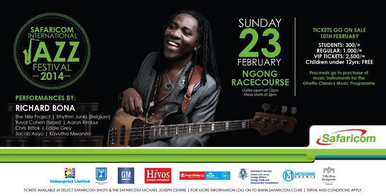 Safaricom International Jazz Festival 2014