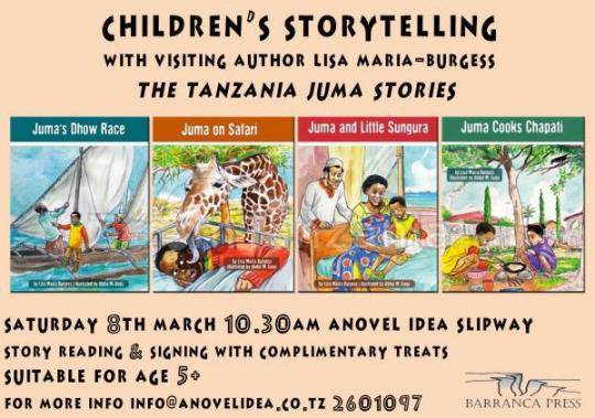 Children's Storytelling - The Juma Books