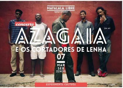 Azagaia e os Cortadores de Lenha ao vivo