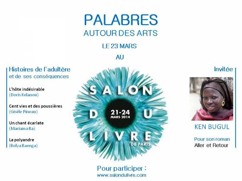 Palabres autour des arts au salon du livre de Paris