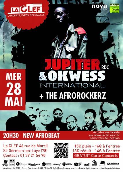 Jupiter & Okwess International + The Afrorockerz