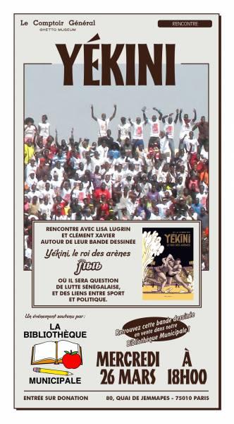Rencontre autour de la lutte sénégalaise, du sport et de [...]