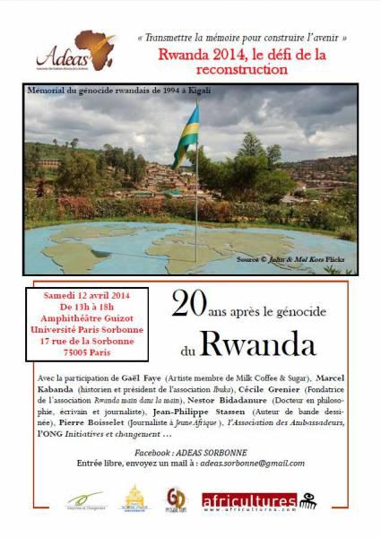 Rwanda 2014 : Le défi de la reconstruction