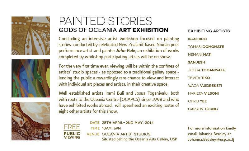 GODS OF OCEANIA ART EXHIBITION