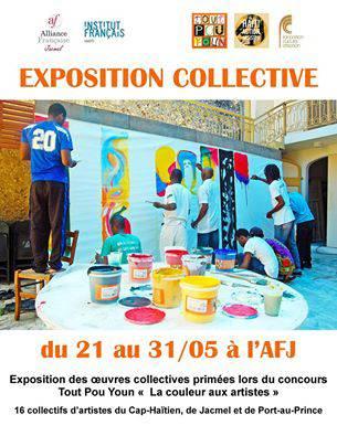 Exposition Collective La couleur aux artistes