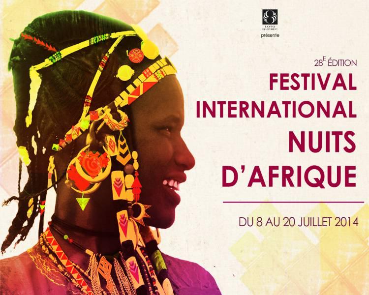 Festival International Nuits d'Afrique 2014