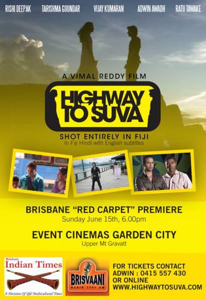 Premiere of fijian film Highway to Suva