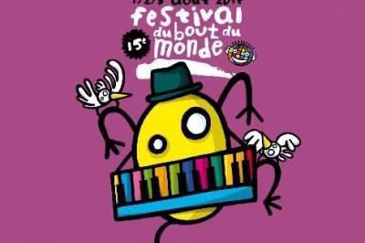 Festival du Bout du Monde - 15ème édition 1/2/3 août [...]
