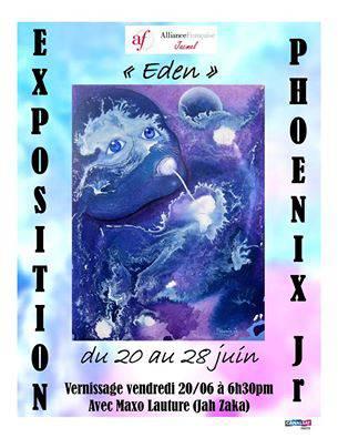 Exposition Eden du peintre Badio Joseph Jr.
