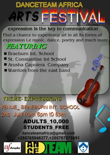 DanceTeam Africa Arts Festival