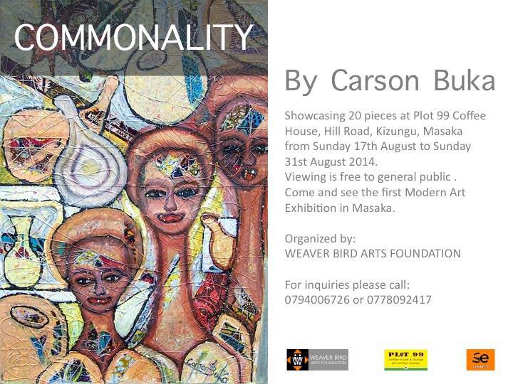 Commonality by Carson Buka-Masaka Exhibition