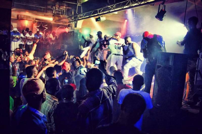 Jah me rue showcase party