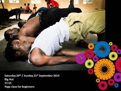 Bayimba 2014: Yoga Class for Beginners