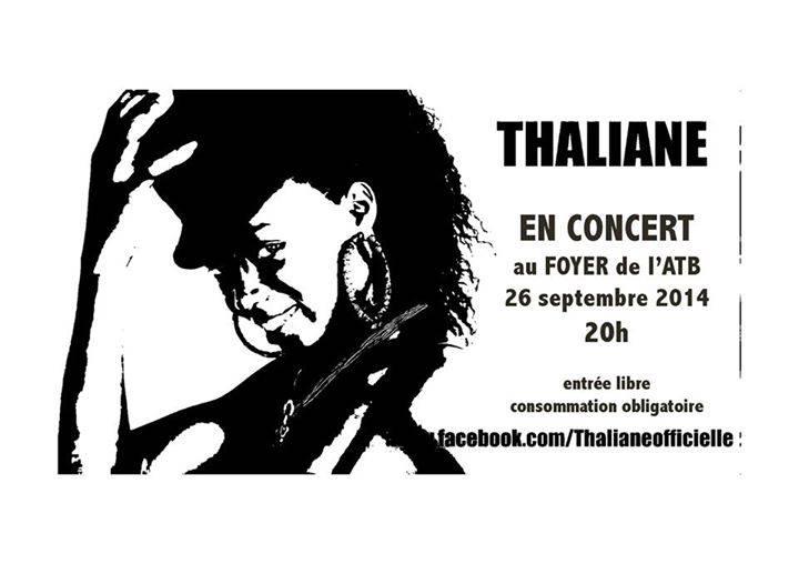 Thaliane en concert au foyer de l'ATB
