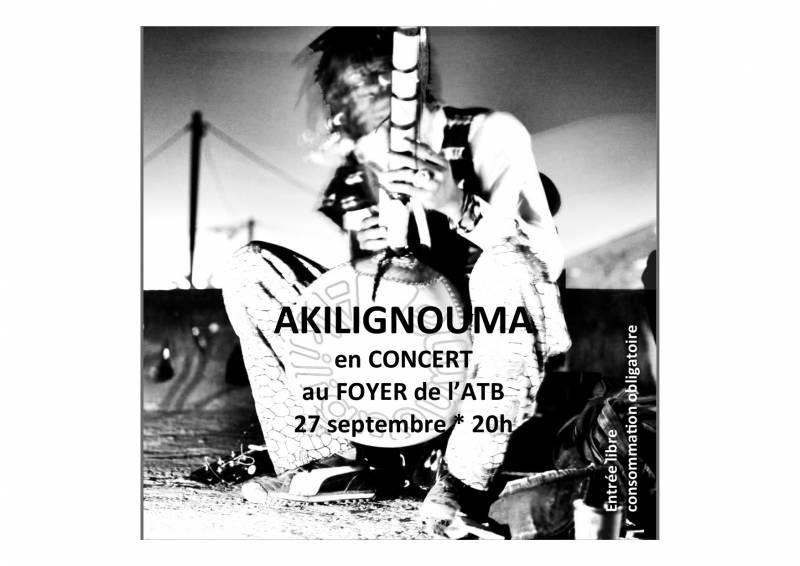 Akilignouma en concert au Foyer