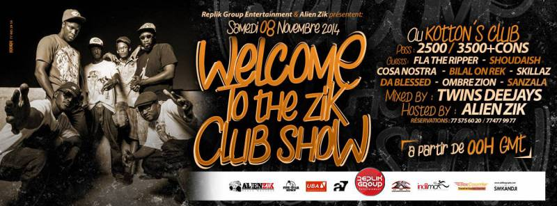 Welcome to the Zik Club