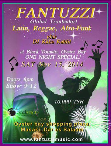 FANTUZZI & DJ Kaka Kahlil rockin' it at Black Tomato!