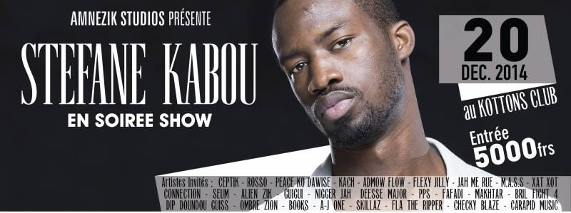 STEFANE KABOU en Soirée Show Case