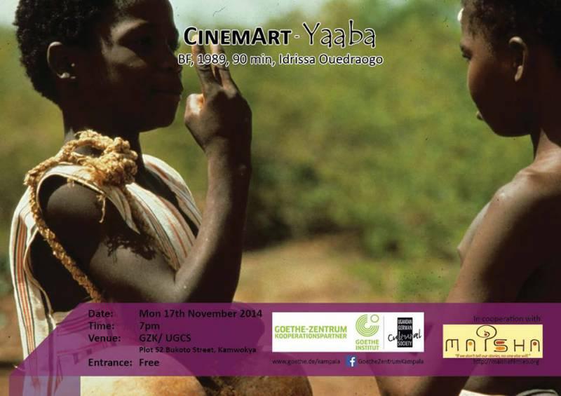 CinemArt - Yaaba@Goethe Zentrum Kampala