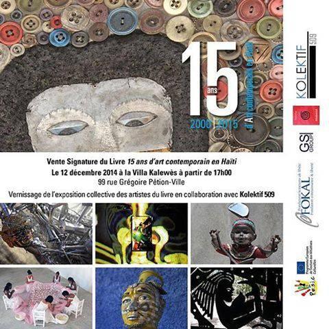 Vente-signature 15 ans d'art contemporain en Haïti