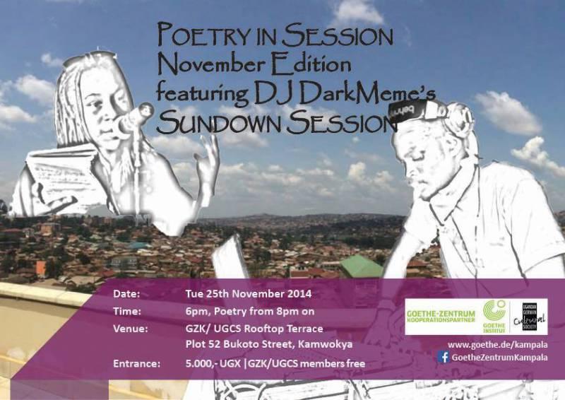 Poetry in Session November Edition @ Goethe Zentrum