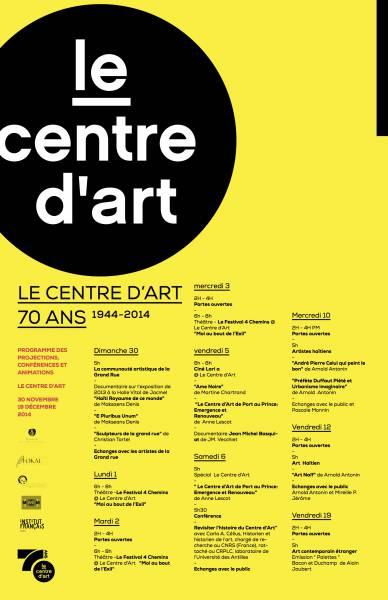 Le Centre d'Art 70 ans