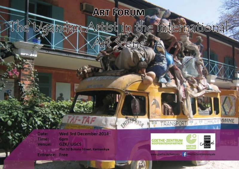 Art Forum - The Ugandan Artist in the International [...]