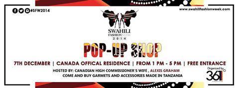 Swahili Fashion Week Pop-up Shop