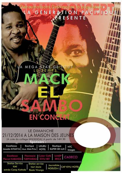 GOMA : MACK EL SAMBO EN CONCERT