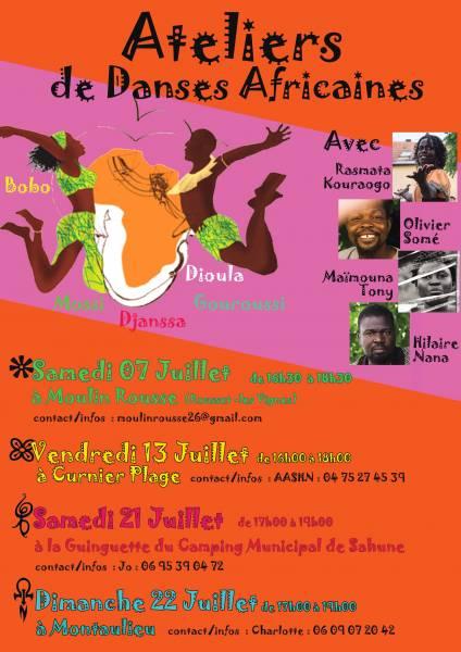Ateliers de danse africaine dans [...]