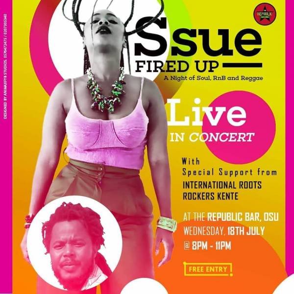 Ssue Fired Up