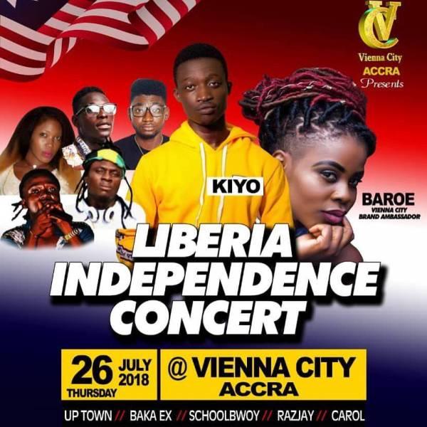 Liberia Independence Concert