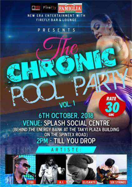 Chronic Pool Party
