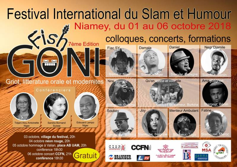 Festival international de slam et humour