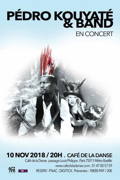 Pédro Kouyaté & Band en concert